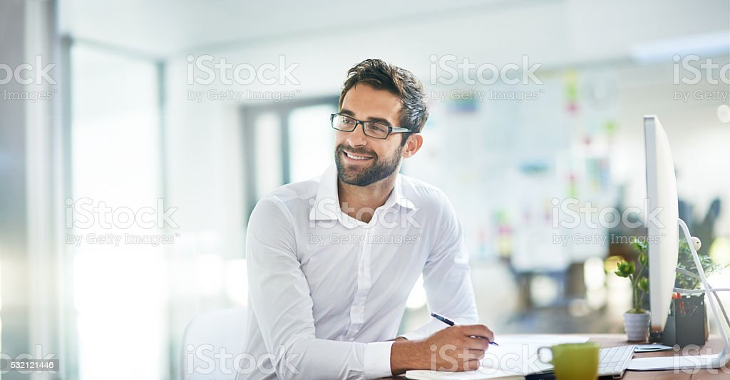 Work smarter, not harder stock photo