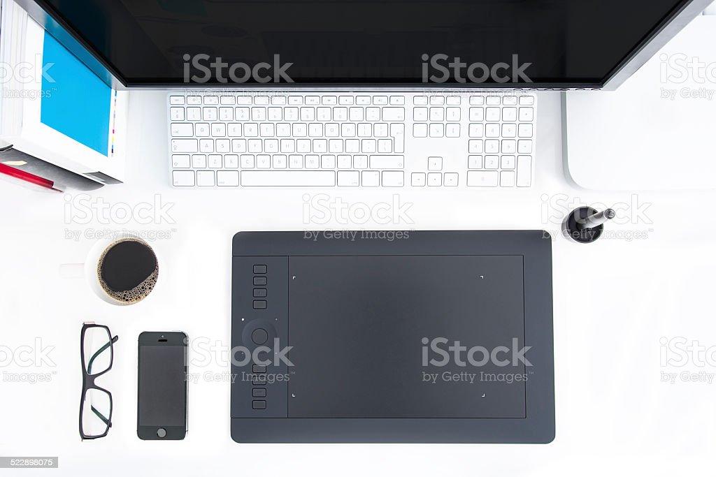 Work Space stock photo