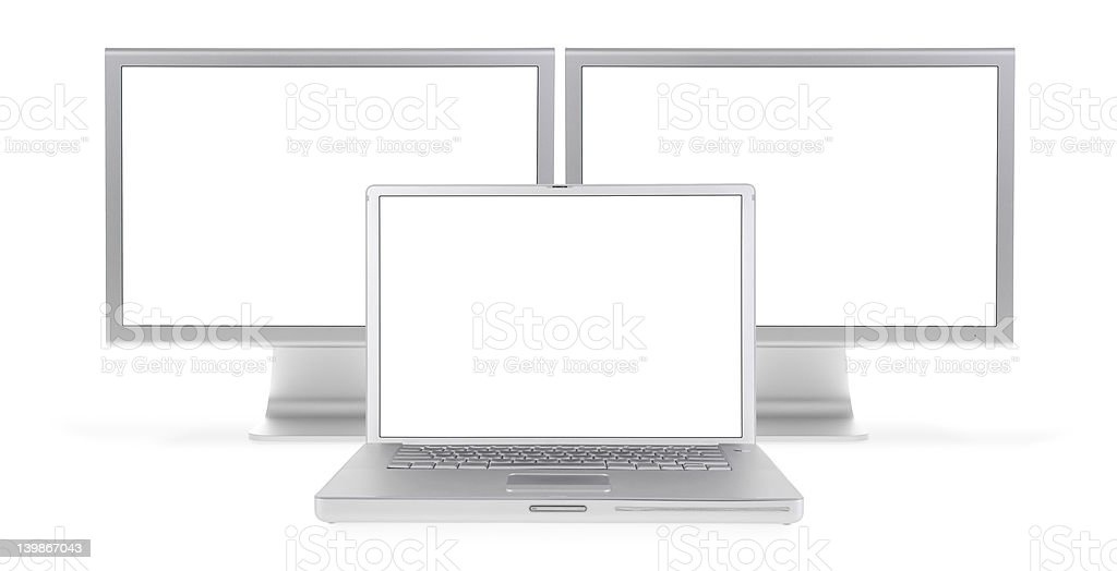 Work Station (extra hi-res) royalty-free stock photo