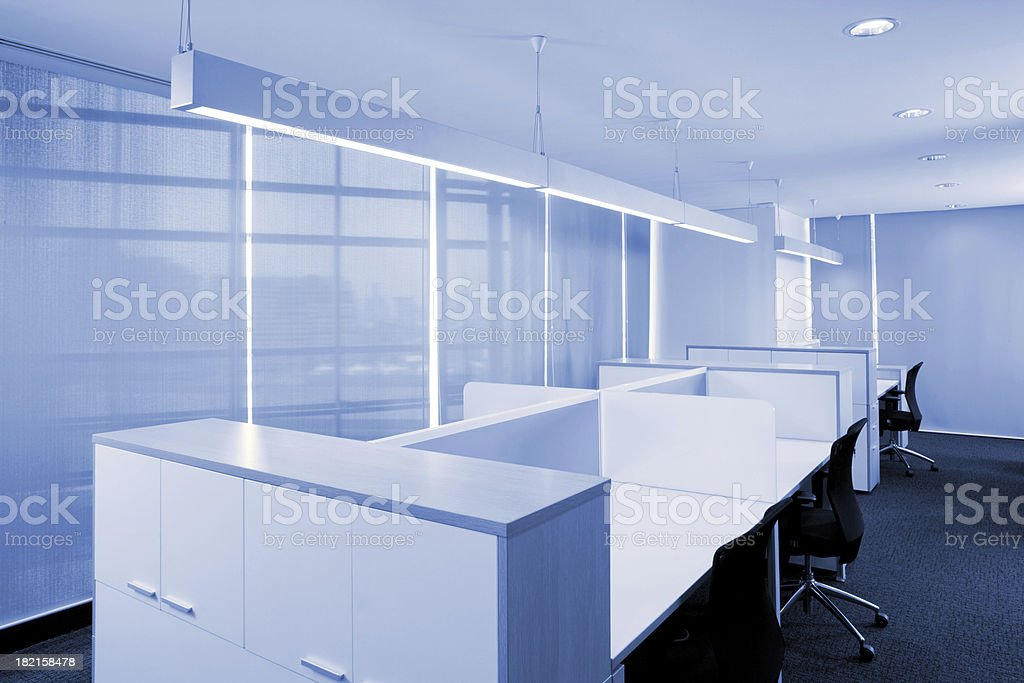 Modern Office Work Station. See The Entire Blue Spaces Collection...