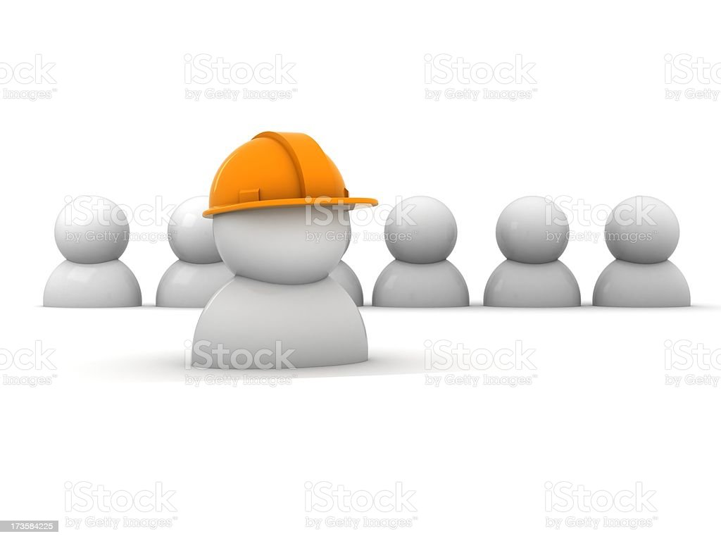 Work team royalty-free stock photo