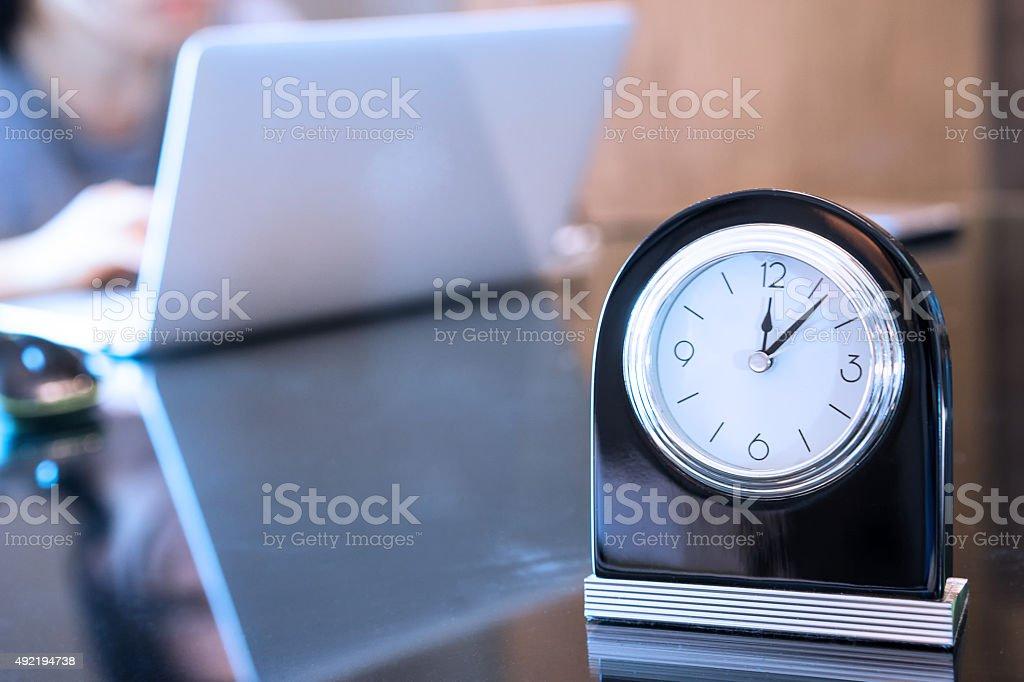 work to deadline stock photo