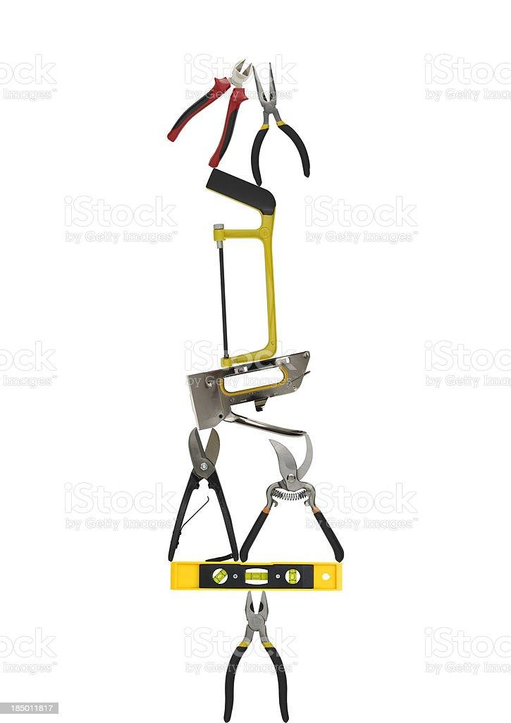 Work tool balance royalty-free stock photo