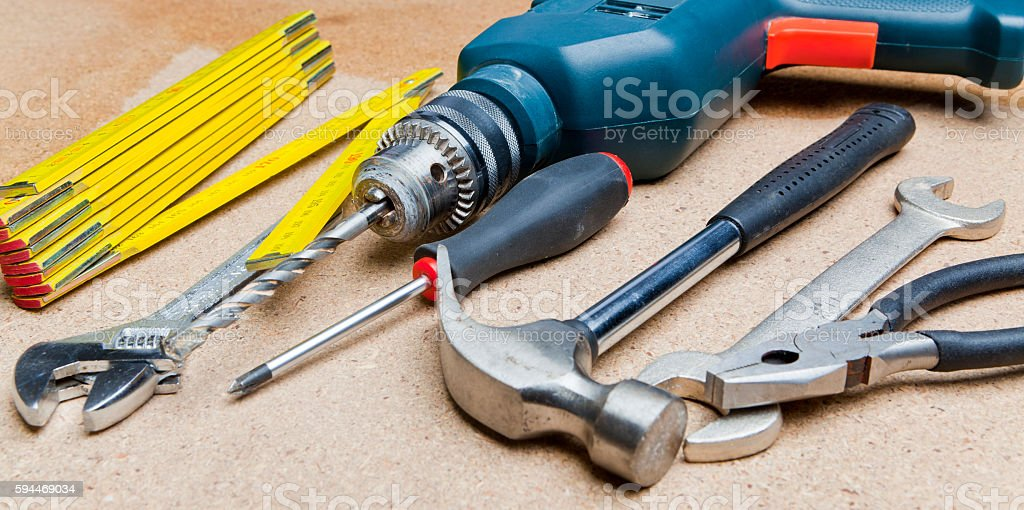 Work Tool stock photo