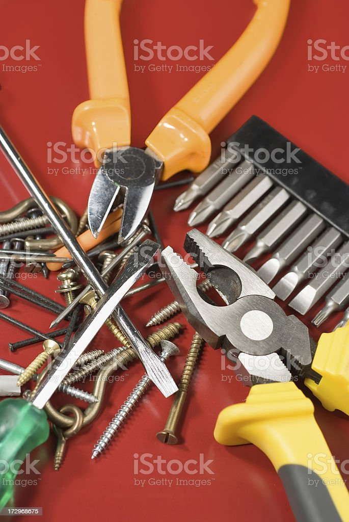 Work tools royalty-free stock photo