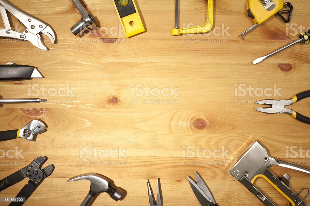 Work Tools stock photo