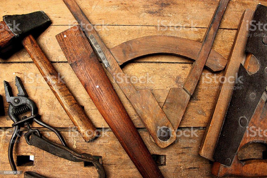 Work Tools stock photo