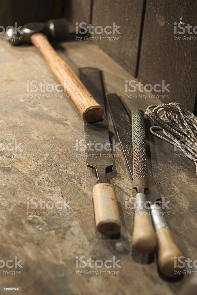 Workbench royalty-free stock photo