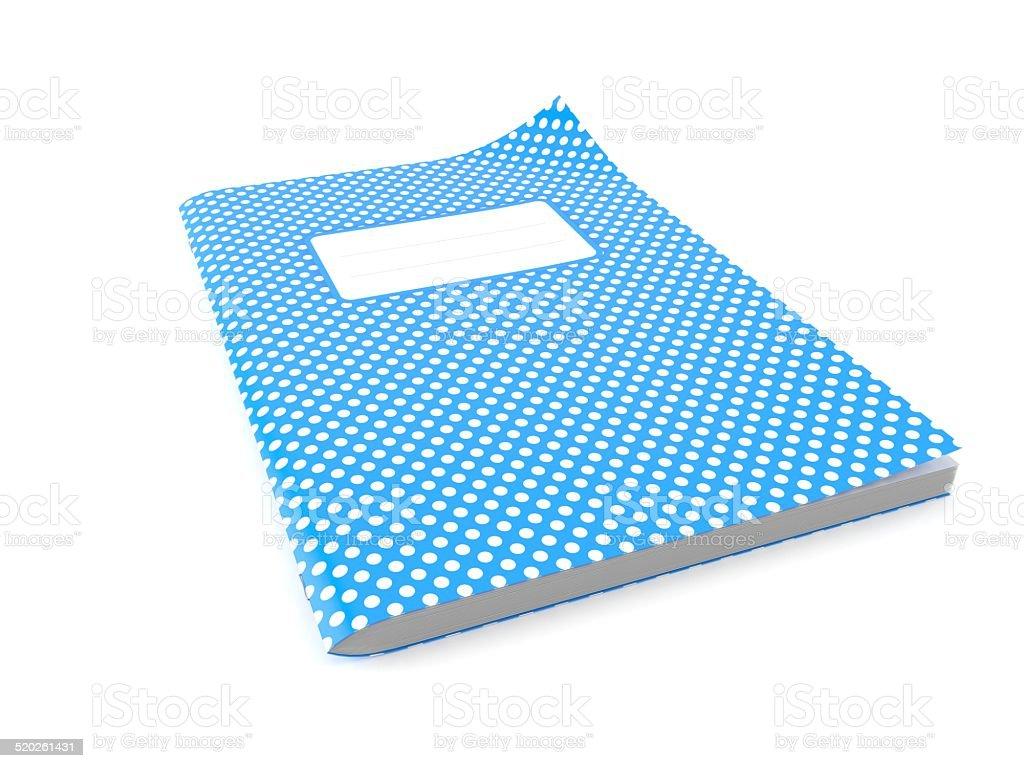Workbook stock photo