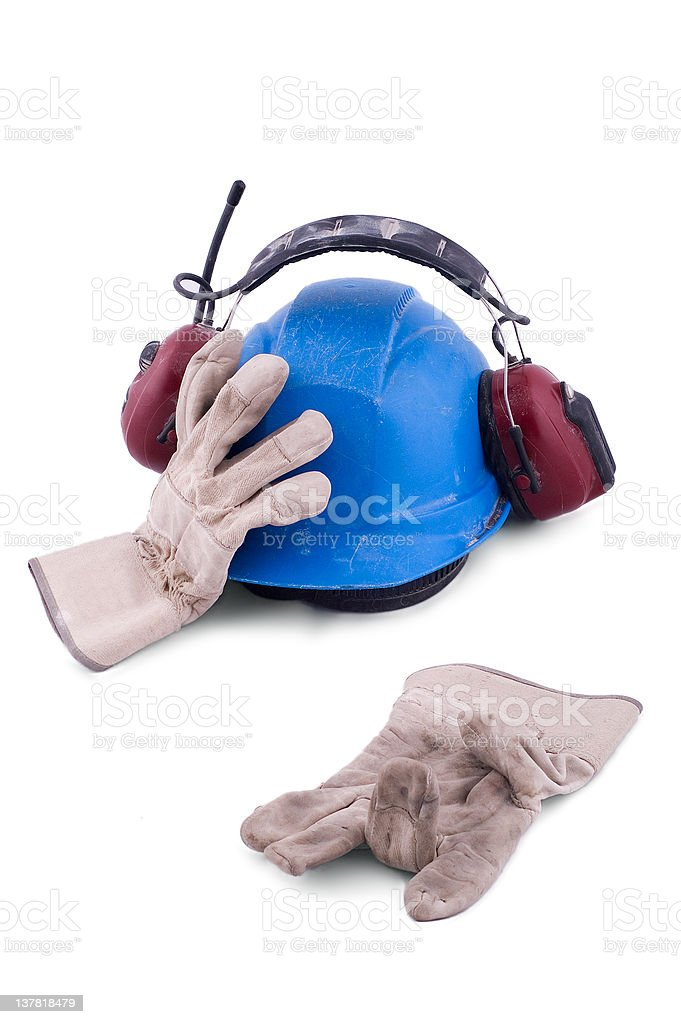 Worker - no more! royalty-free stock photo