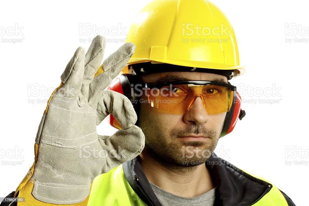 Worker stock photo
