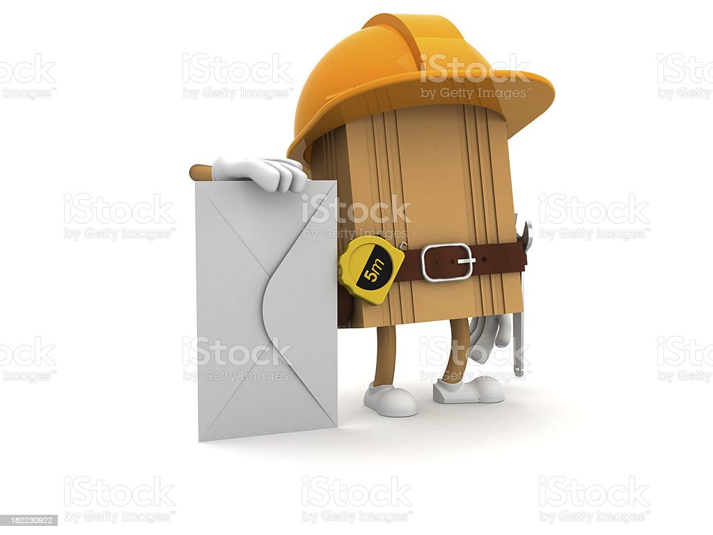 Worker royalty-free stock photo