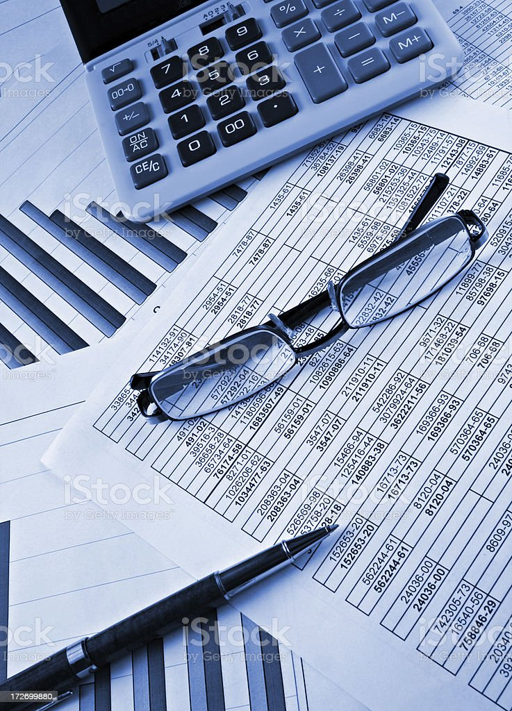 worker place accountant royalty-free stock photo