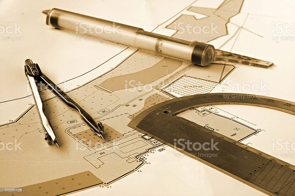 worker place topographer royalty-free stock photo