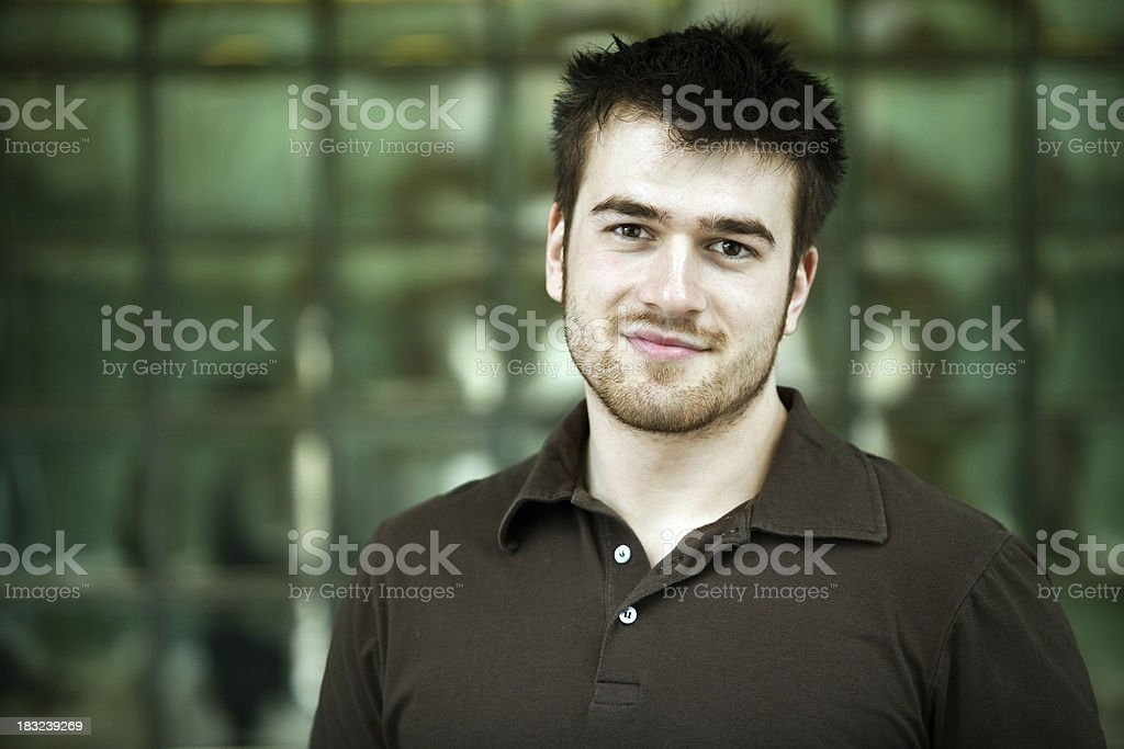 Worker posing royalty-free stock photo
