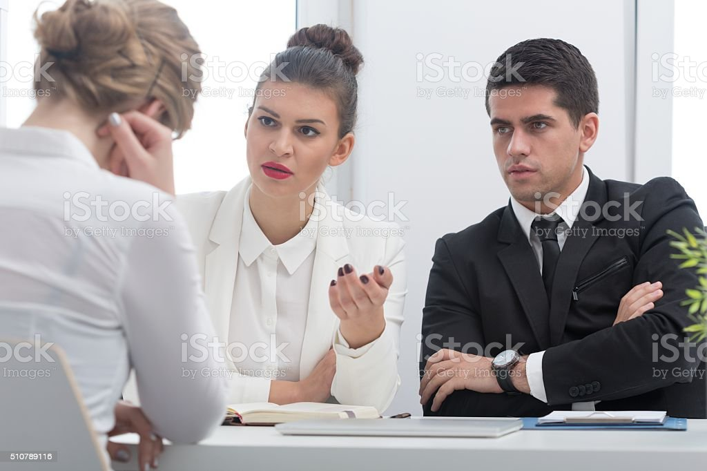 Worker who committed fraud stock photo