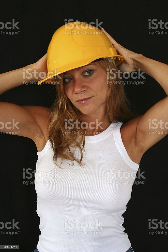 Worker Woman royalty-free stock photo
