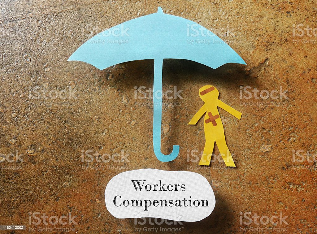 Workers Compensation concept stock photo