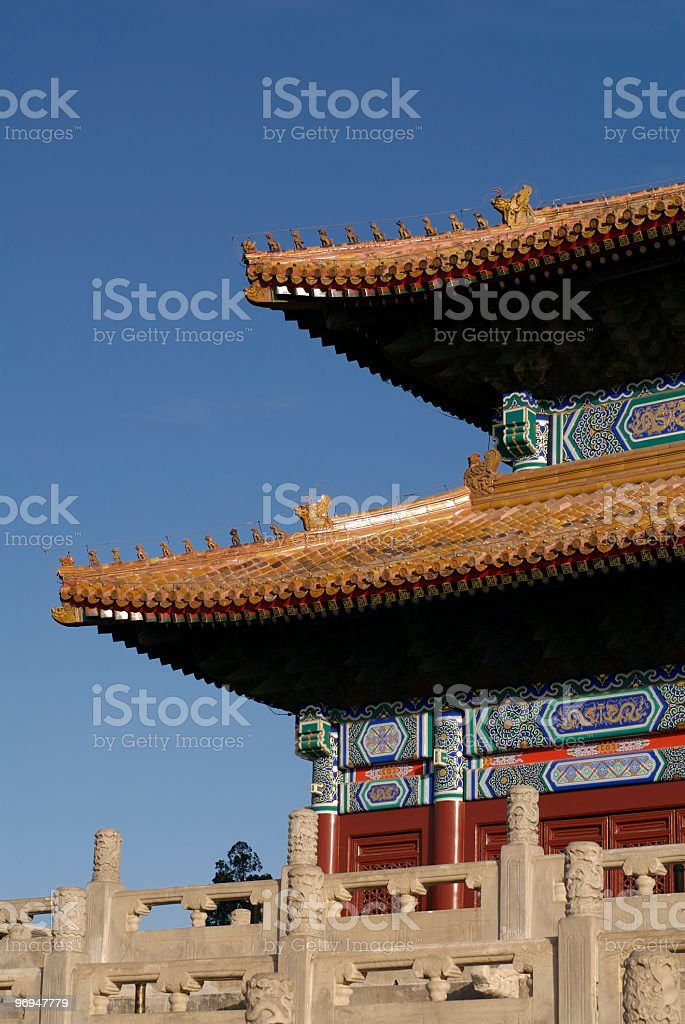 Workers' Cultural Palace, Beijing, China royalty-free stock photo