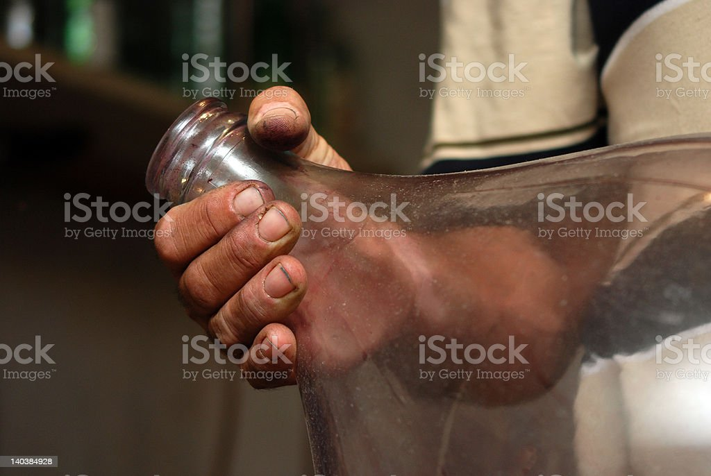 workers hands royalty-free stock photo