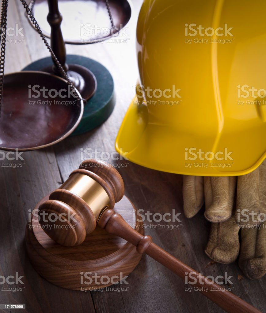 Worker's Rights royalty-free stock photo