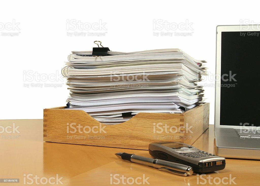 Workflow Scene royalty-free stock photo
