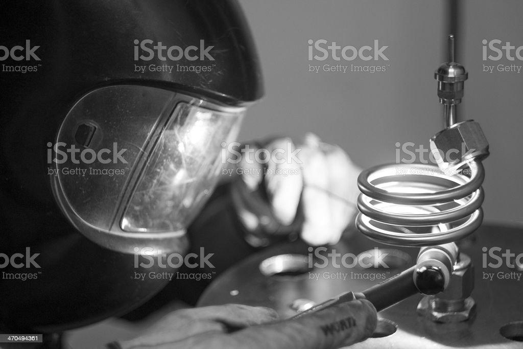 Working class hero stock photo