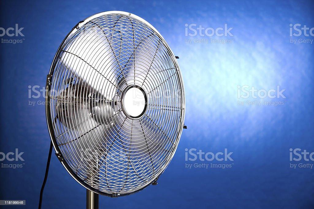 Working fan royalty-free stock photo