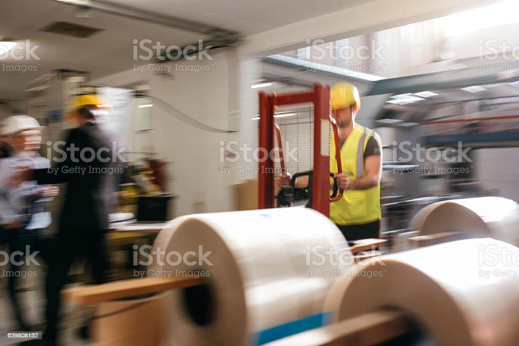 Working fast stock photo