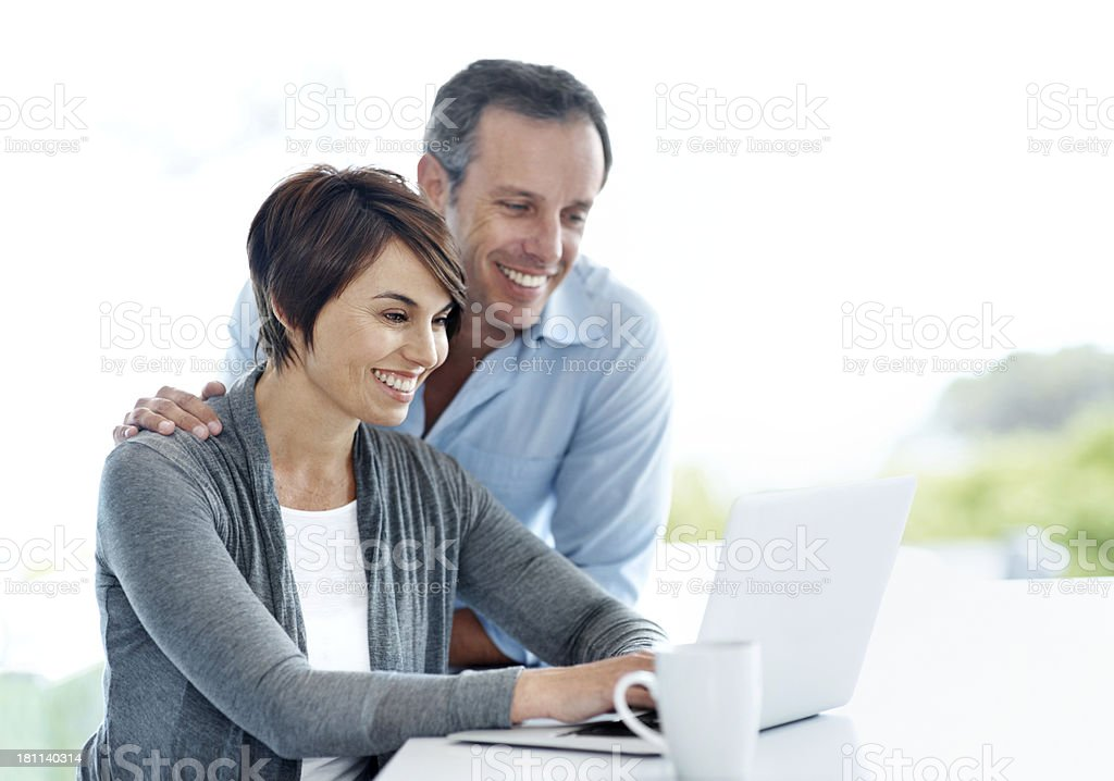 Working from home royalty-free stock photo