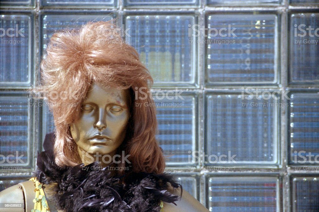 Working Girl stock photo