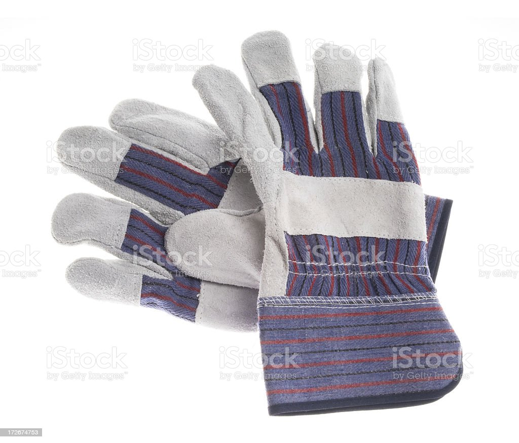 Working gloves royalty-free stock photo