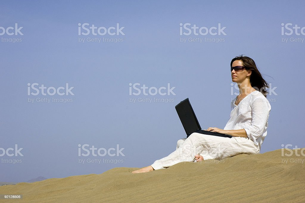 working holiday royalty-free stock photo