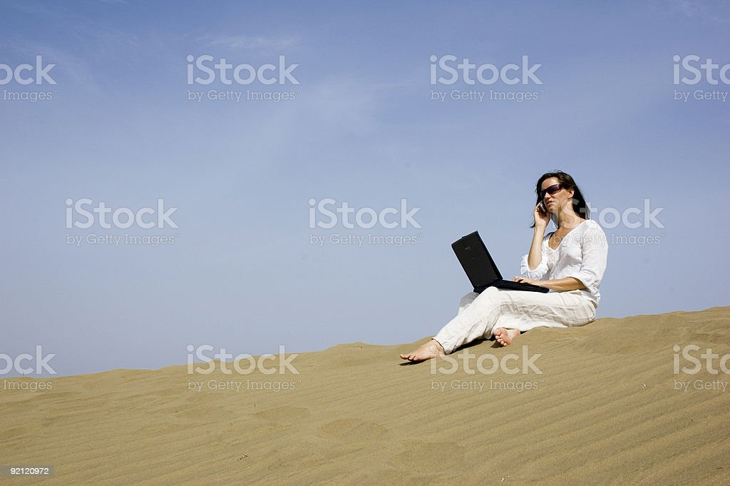 working holiday5 royalty-free stock photo