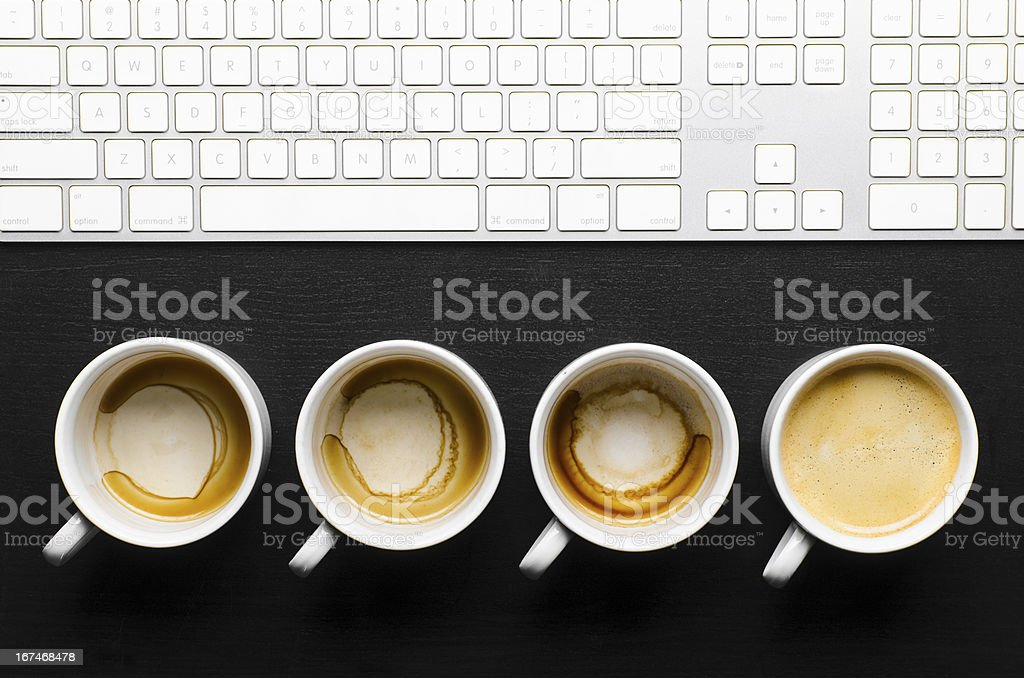 working hours. royalty-free stock photo