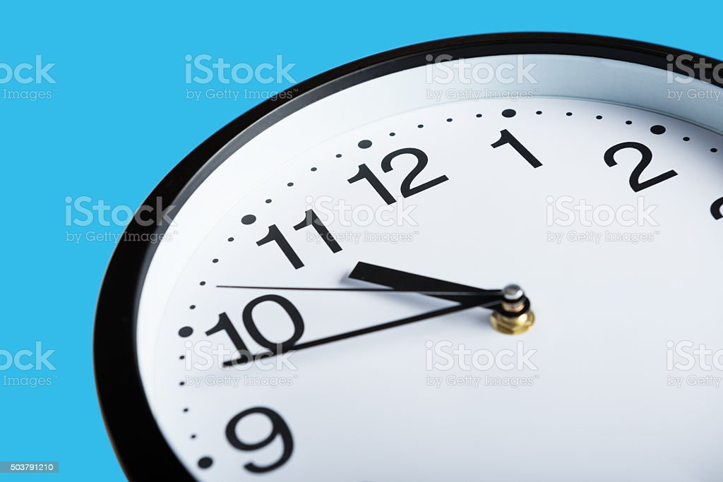 Working hours stock photo