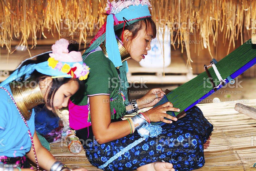 Working Karen women royalty-free stock photo