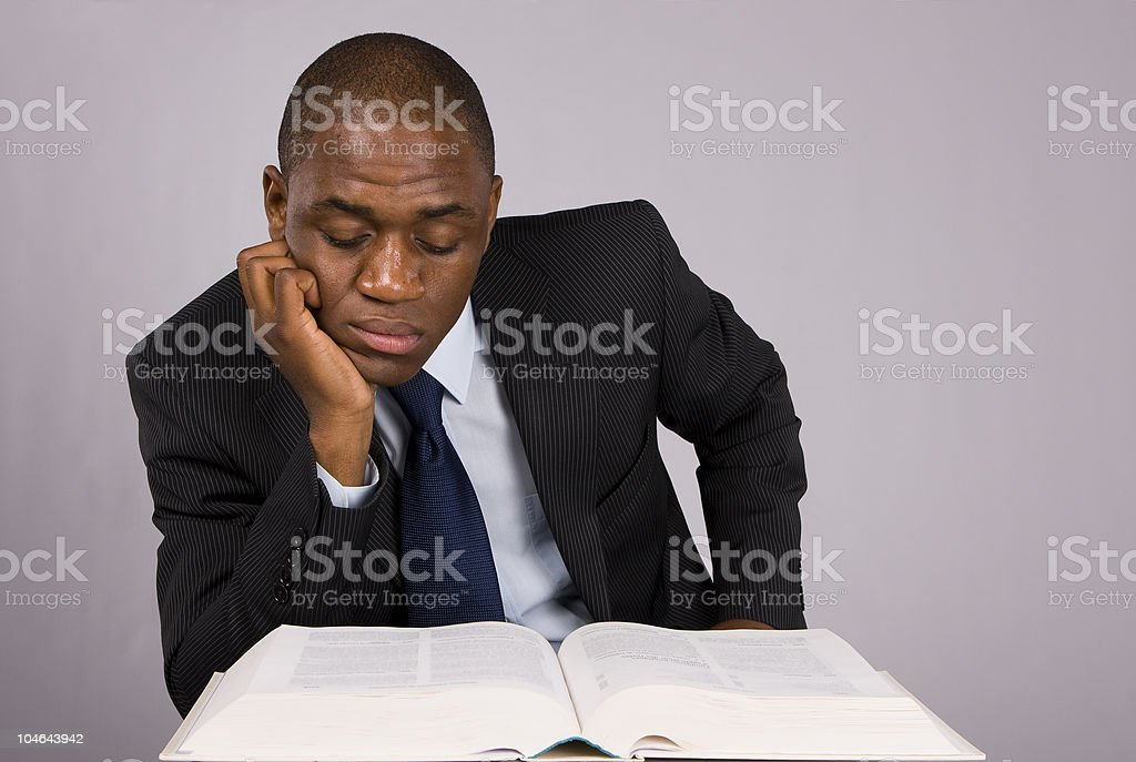 Working late royalty-free stock photo