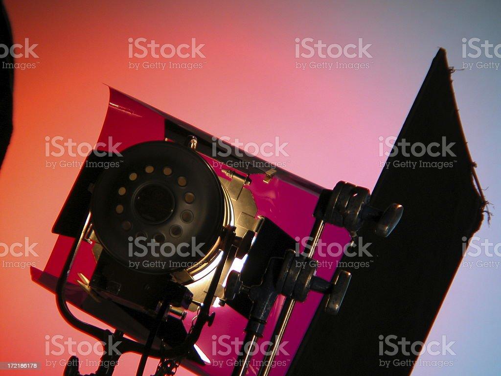 Working Light royalty-free stock photo