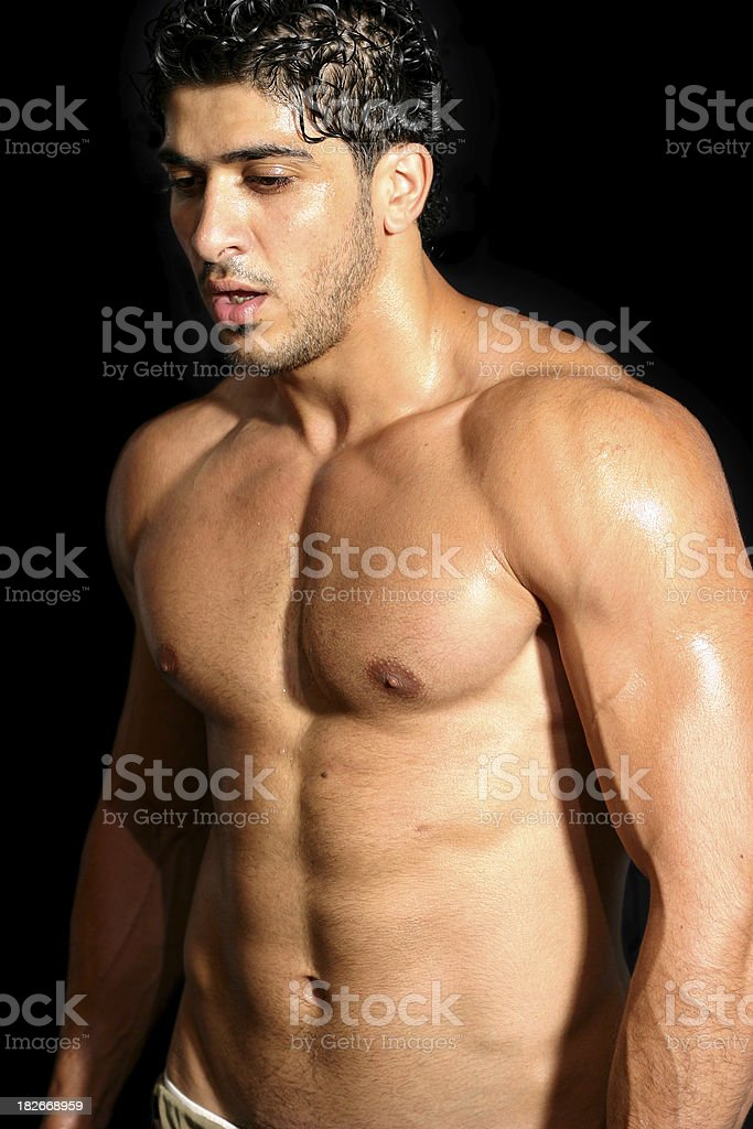 Working out 1 royalty-free stock photo