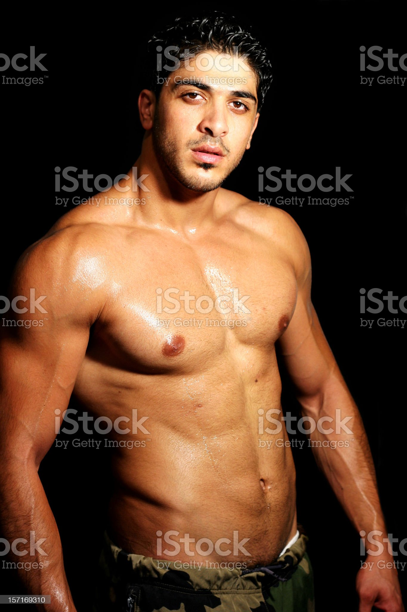 Working out 5 royalty-free stock photo