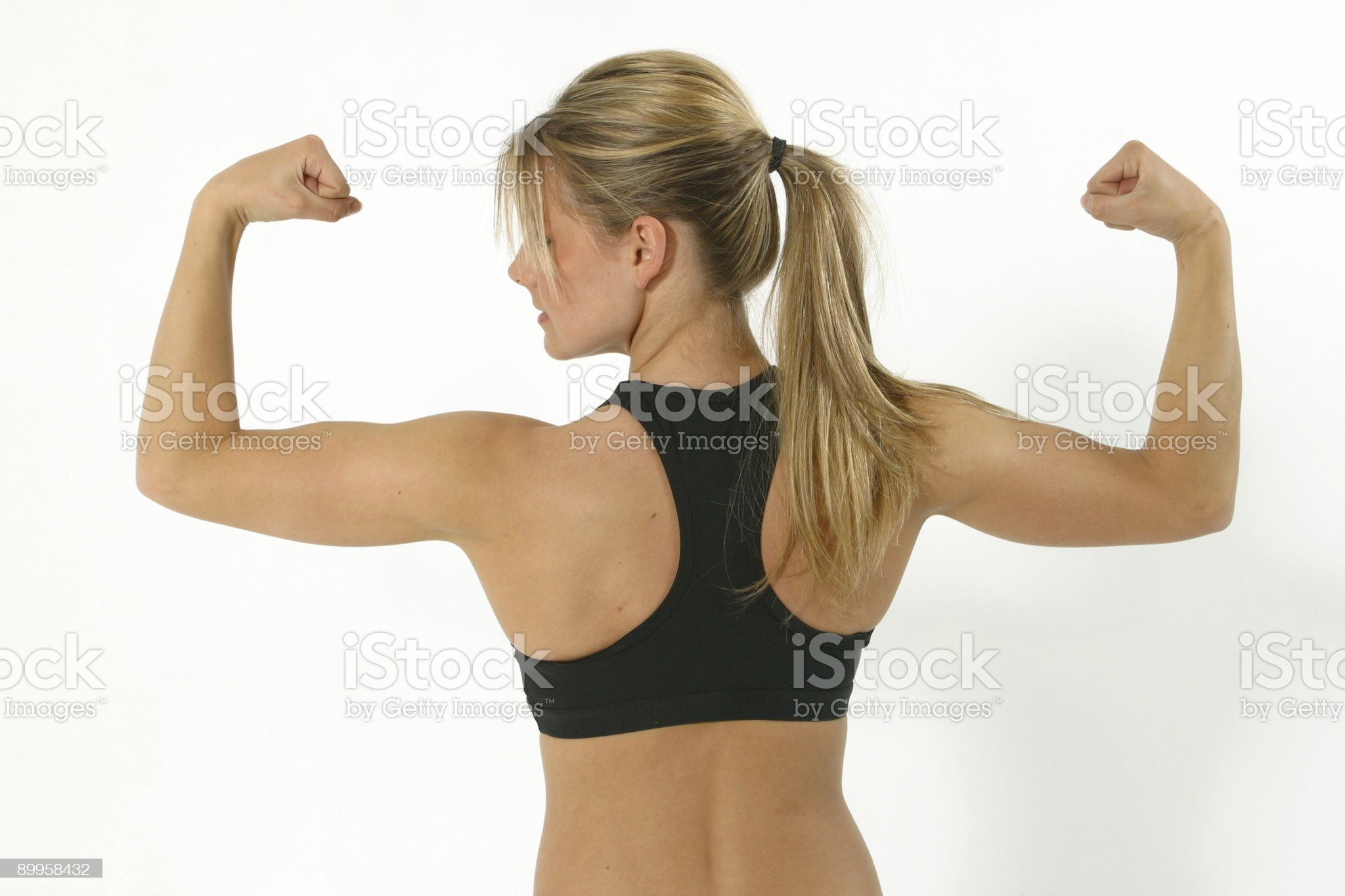 Working out 8 royalty-free stock photo