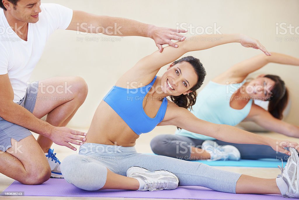 Working out and feeling amazing! royalty-free stock photo