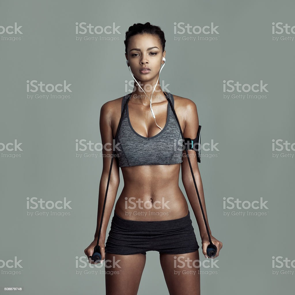 Working out is worth it stock photo