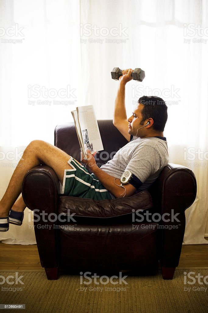 Working Out stock photo