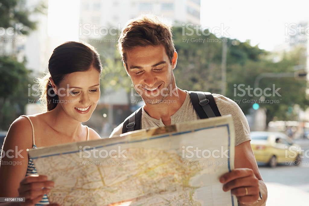 Working out what they want to see first stock photo
