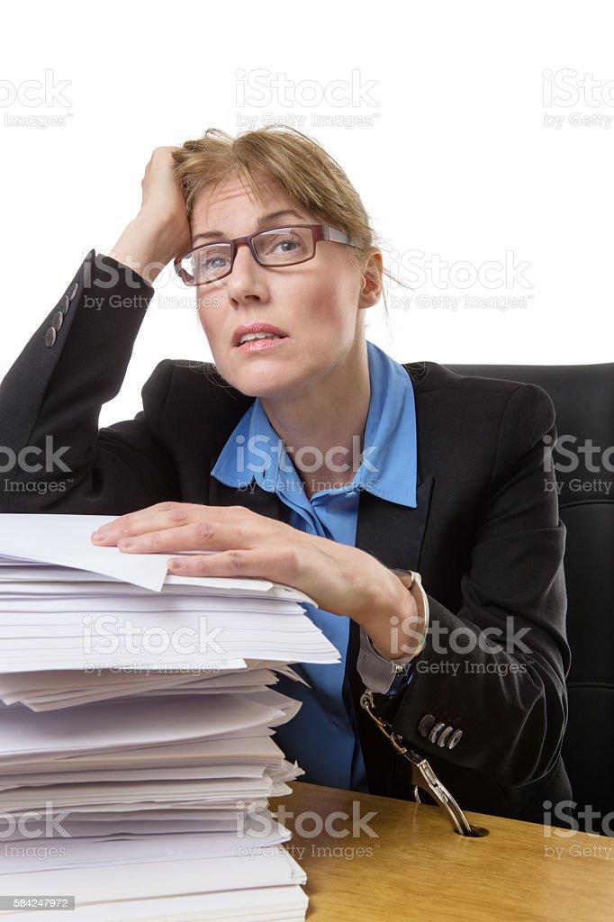 working overload stock photo