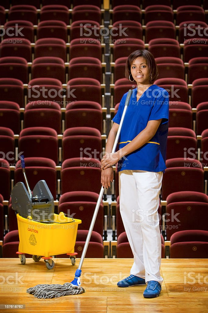 Working Person stock photo