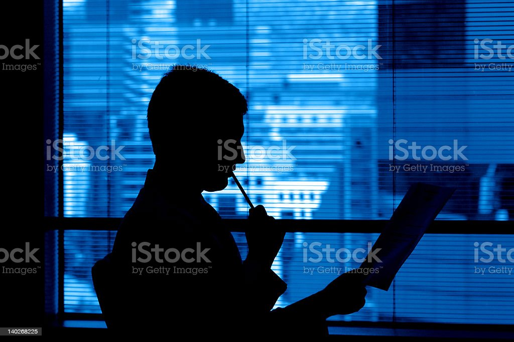 working royalty-free stock photo