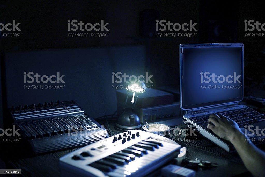 Working stock photo